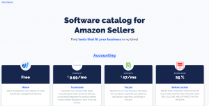 FBA Catalog - handbook for Amazon Sellers