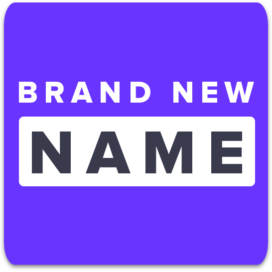 Brand New Name